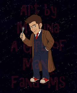 The Tenth Doctor (Blue Suit)