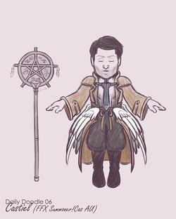 Summoner Castiel (With Wings)