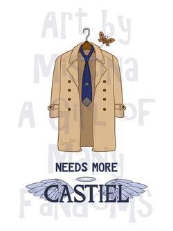 Needs More Castiel