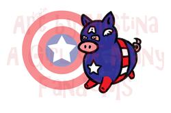 Pig Avengers: Captain H-America!