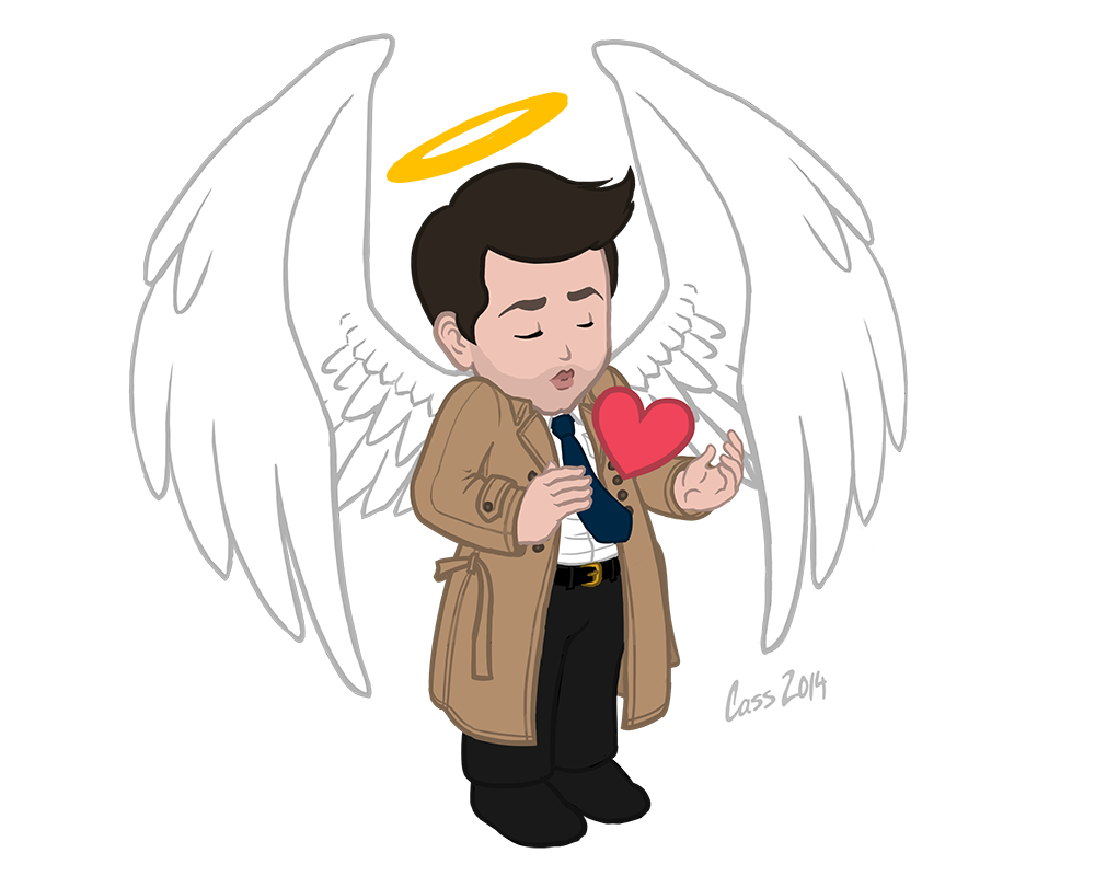 Castiel Has Too Much Heart