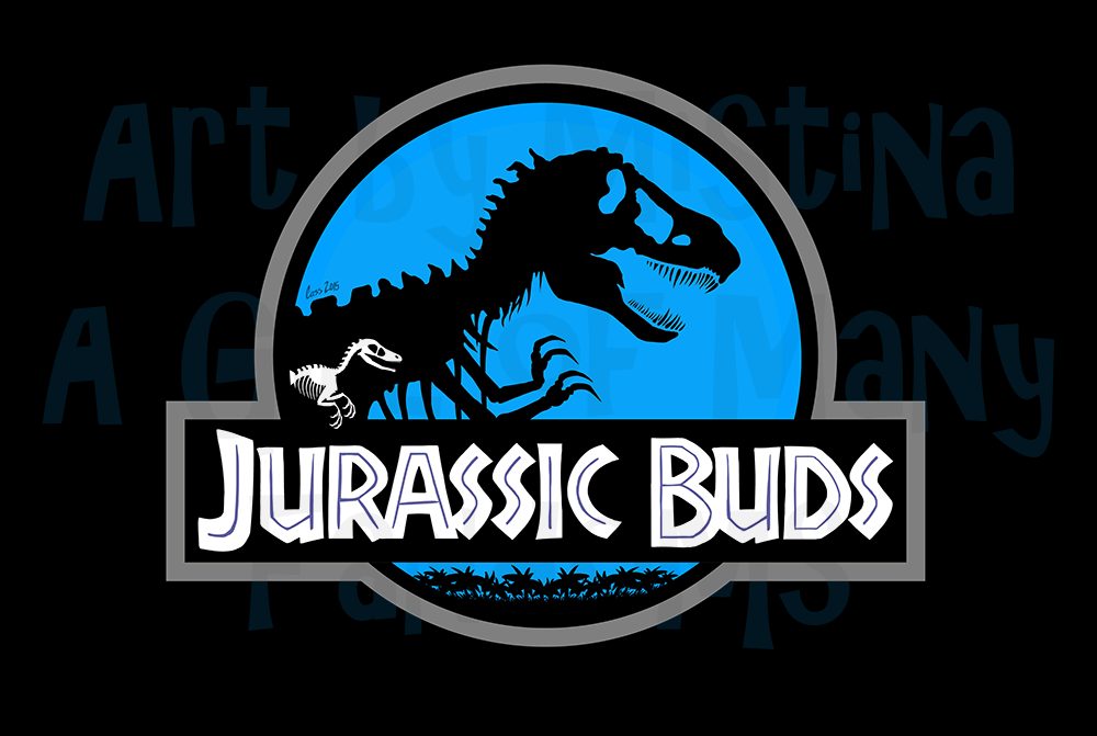 Jurassic Buds (Lost World Blue)