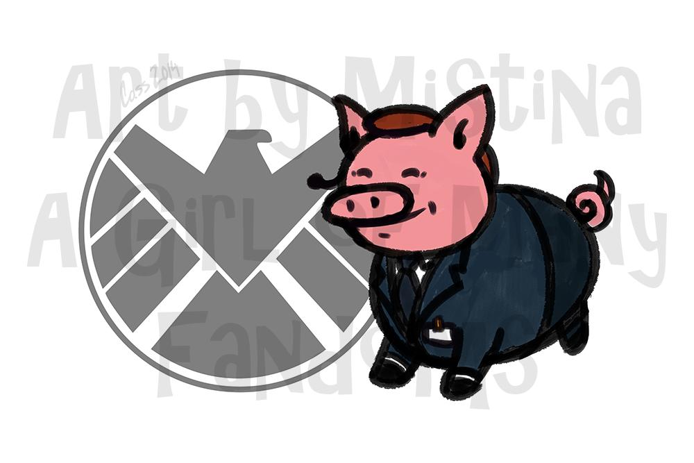 Pig Avengers: Phil Porkson!