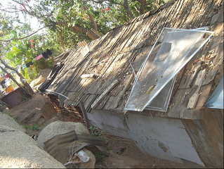 Numerous people live in these Shanty Shacks