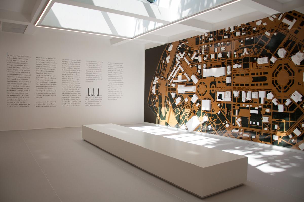 15. Mostra Internazionale di Architettura Venezia 2016 - Padiglione Russia - Photocredit Irene Faniz