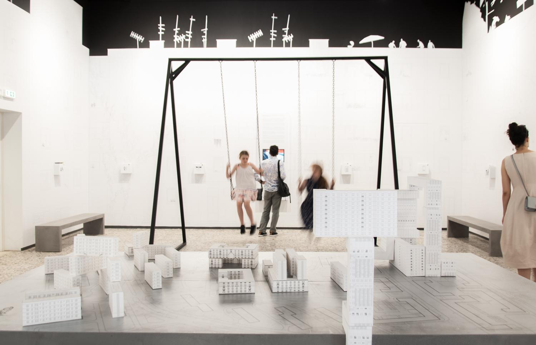 Biennale di Architettura di Venezia 2018. Giardini. Padiglione Romania. Photo Irene Fanizza