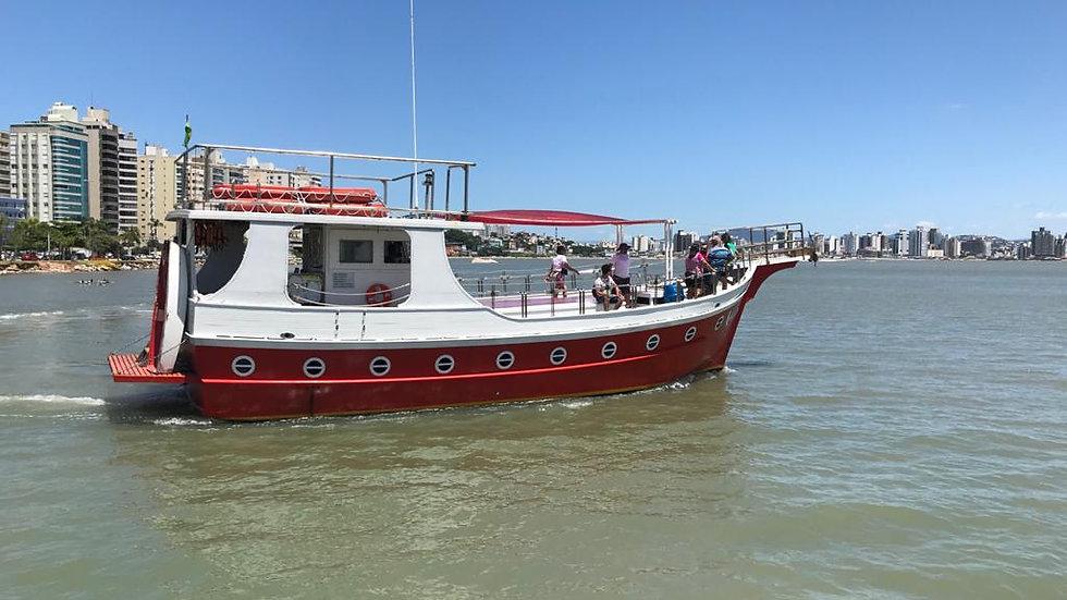 City Tour com passeio de barco na Beira Mar Norte