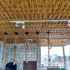 Forro de Trama de Bambu