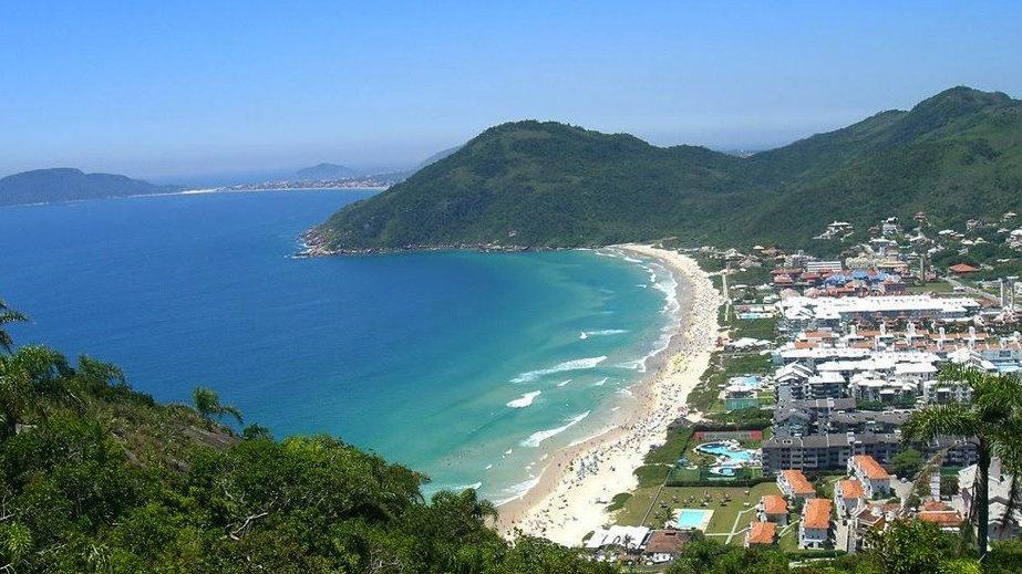 Mirante da Praia Brava com Lagoinha