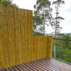 Cerca/divisória de Bambu