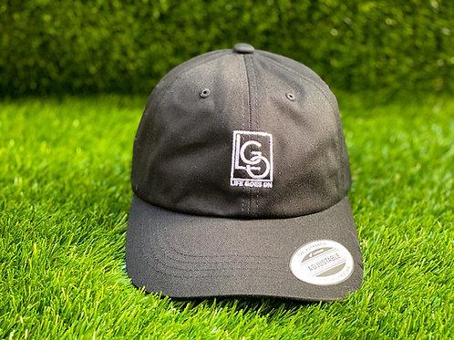 LGO Embroidered Dad Cap – Black