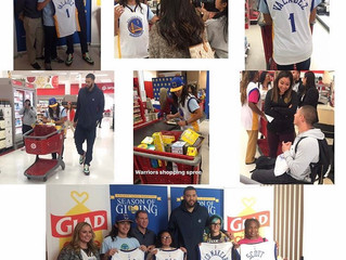 LGO Teams with GLAAD + Oakland Promise + Warriors for Shopping Spree