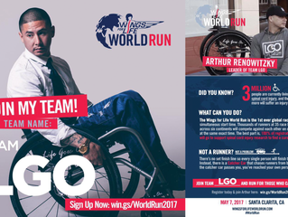 Join TEAM LGO at Wings For Life World Run in Santa Clarita on 5/7!