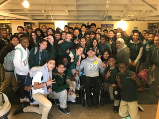 Arthur invited as special guest speaker at Lighthouse Community Charter School in East Oakland