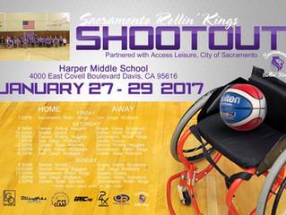Attend Sacramento Rollin' Kings tournament Jan 27-29