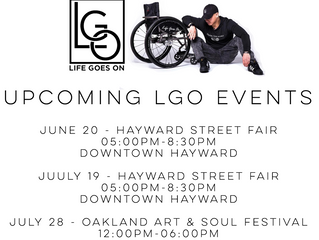 Upcoming LGO Summer Events