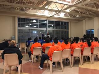 San Mateo Juvenile Hall visit