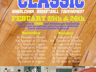 Attend 9th Annual California Classic Wheelchair Basketball Tournament