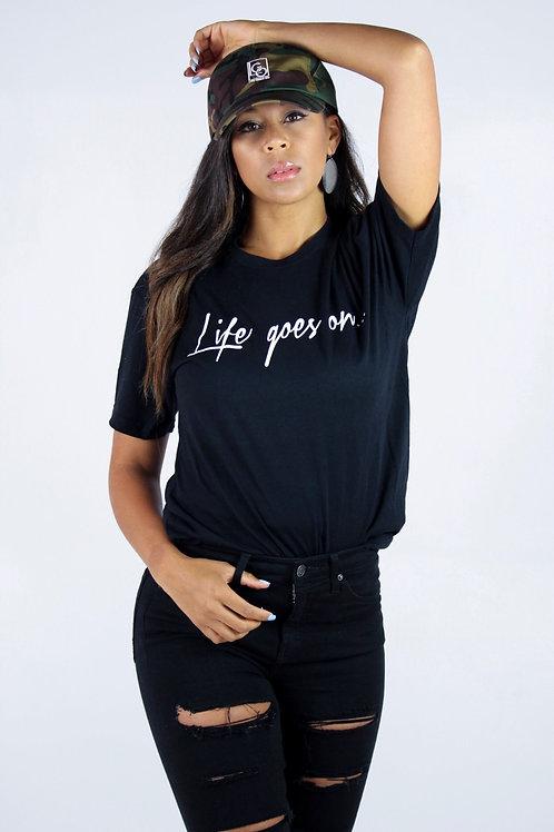 Life Goes On Black/White Script