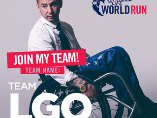 Join Team LGO at Red Bull's Wings For Life World Run 2017