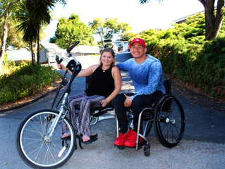 Congrats toEmilie our winner of the LGOHandbike Giveaway!