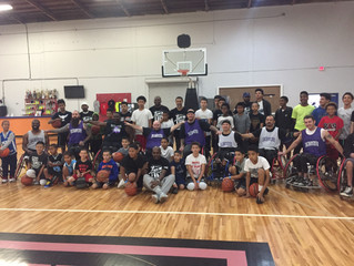 LGO Teams with Mahmoud Abdul-Rauf for Wheelchair Basketball at Jamtown in Oakland