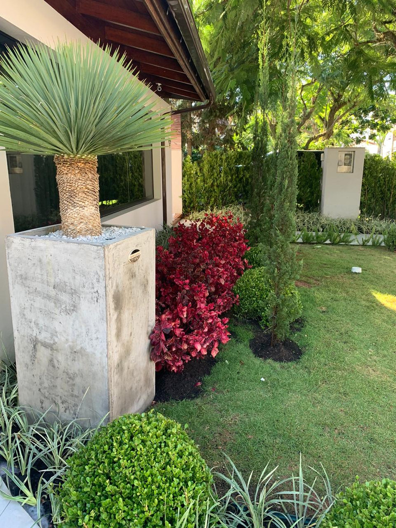 Jardim Casa Jurere Internacional_Vasos C