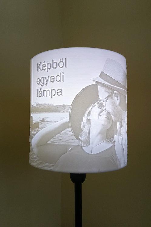 Egyedi Marked Lithophane lámpa