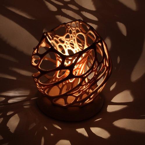 Voronoi potcake lámpa