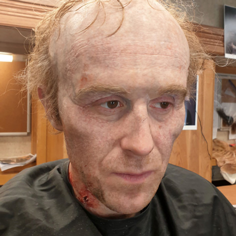 Dracula Johnathon Harker Make up application