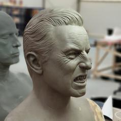 Dracual Fire Make Sculpture