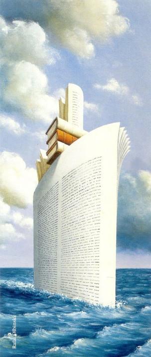 """""""ספרים, כדי לבקע את הים הקפוא שבתוכנו"""""""