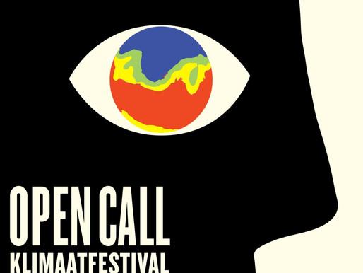 OPEN CALL - Klimaatfestival Antwerpen