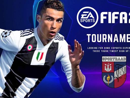 FIFA20 Tournament vanuit uw kot