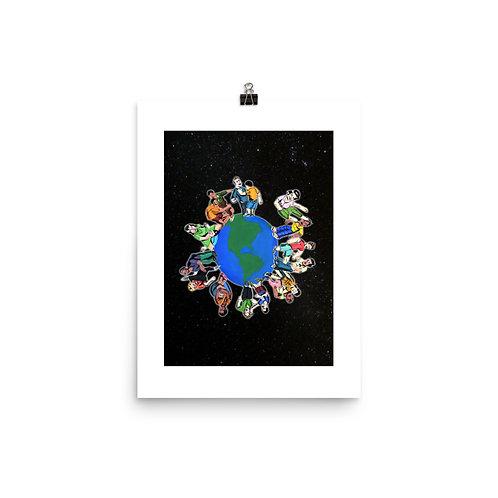 Stupid Earthlings Book Art Print