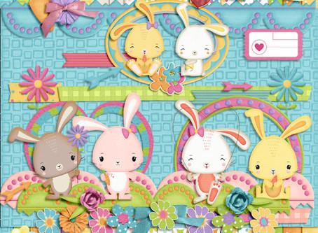 Lançamento Kit Cute Bunny