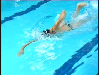 Squad Front Crawl fitness sessions for Triathletes and masters swimmers at Guildford Lido Starting T