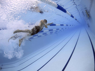 Do you find your breathing pattern goes out of the window when you're racing, swimming faster or in