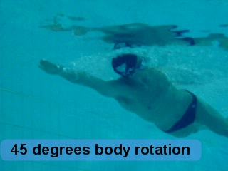 Freestyle UNDER - 45 degrees bodyroll