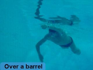 Freestyle UNDER - Side & Deep over a barrel