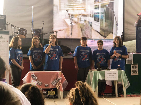 MOSTRA DE CIÊNCIAS DO CSP PRESENTE NA FESTA PER TUTTI