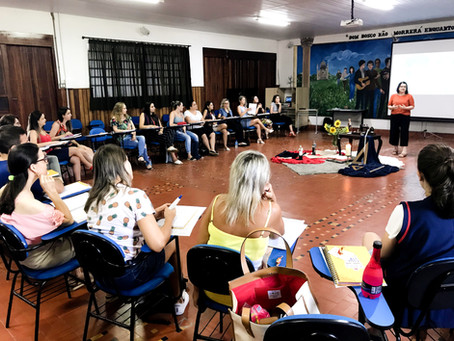 EDUCADORES DO CSP INICIAM 2020 COM A 3ª ETAPA DA ESCOLA DE ACOMPANHAMENTO