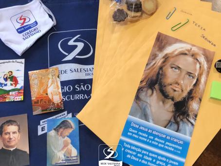 AMJ ONLINE ENVOLVE ALUNOS DO COLÉGIO SÃO PAULO