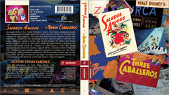 Saludos Amigos + The Three Caballeros Zoetrope Cover