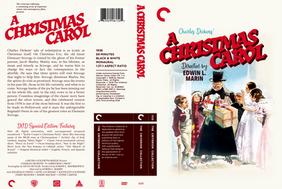 A Christmas Carol (1938) Custom Criterion Collection Cover
