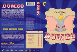 Dumbo Criterion Collection Cover