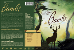 Bambi Criterion Collection Cover