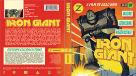 The Iron Giant Zoetrope Cover