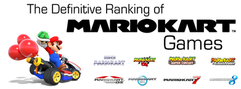 The Definitive Ranking of Mario Kart Games