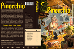 Pinocchio Criterion Collection Cover